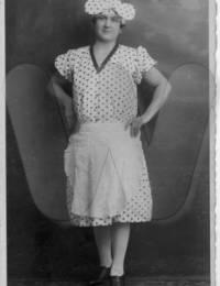 Mikulanec, Maria 1929 FEB 9. Maskenball