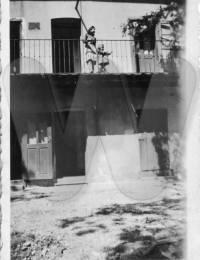 Wohnhaus Fam. Mikulanec (im Hintergrund: Stefanie)